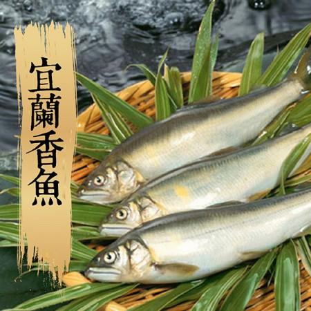 【祥鈺水產】宜蘭香魚(公)/7尾裝(盒)1KG